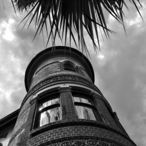 12 Tower Fringed with Leaves and Ghosts