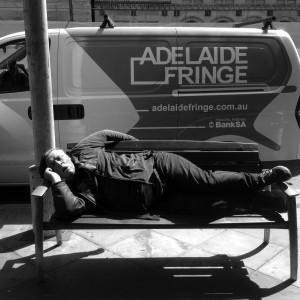 20 Resting during the Fringe
